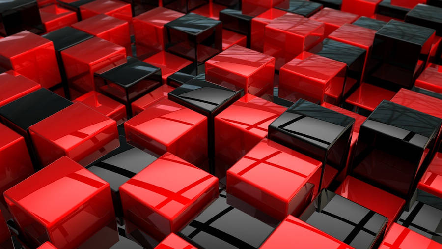 Red 3d abstract wallpapers 1920x1080 for 3d wallpaper red
