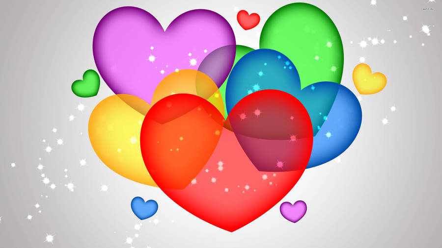 Heart balloon wallpaper 37176 - How to make heart balloon ...