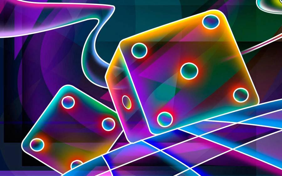 Black cube world wallpaper in 1366x768 screen resolution