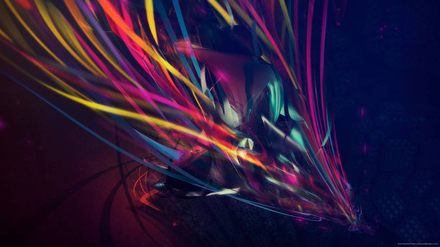 Abstract Brush Strokes Widescreen Wallpaper Wide