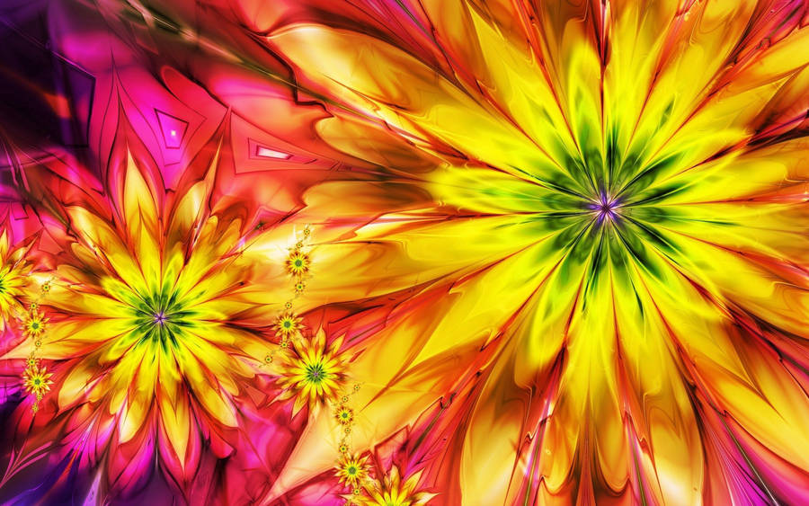 colorful fractals - wallpaper #40489