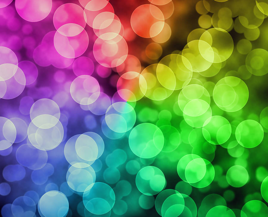 Lighted Circles wallpaper - Abstract wallpapers - #