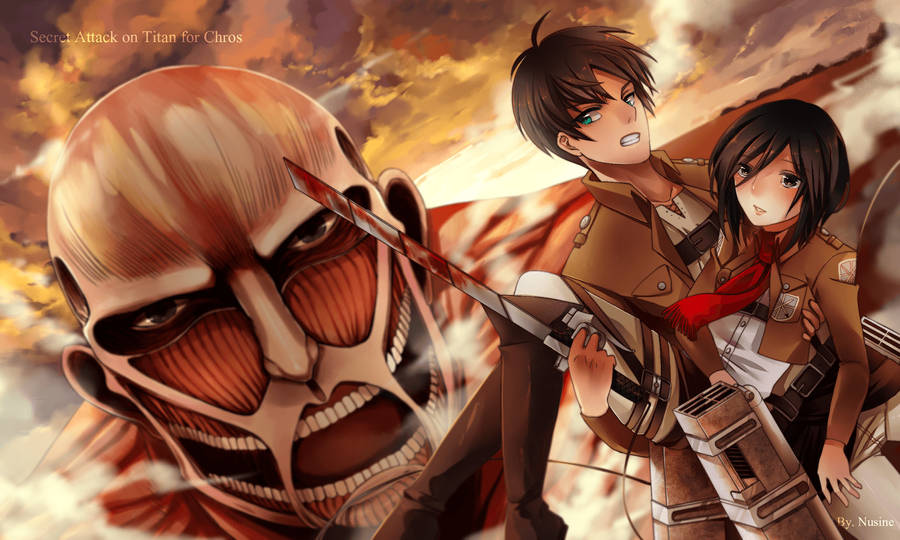 Download Attack On Titan Scouting Legion Wallpaper By Imxset21 Daily Anime Art Wallpaper Wallpapers Com