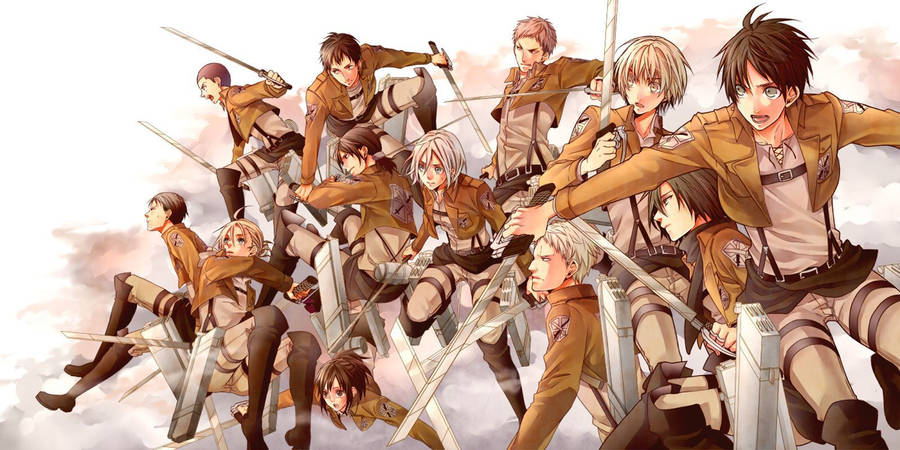 40 Attack On Titan Wallpapers For Free Wallpapers Com