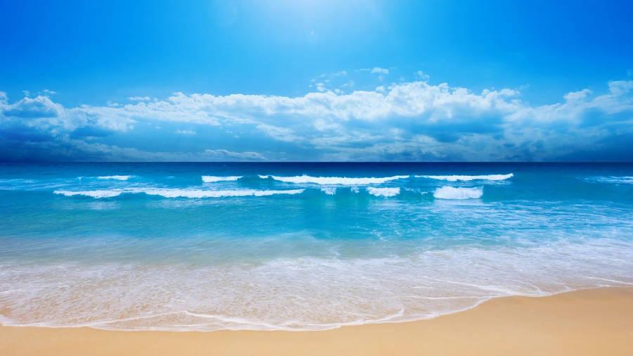 Beach Cocktail Widescreen Wallpaper