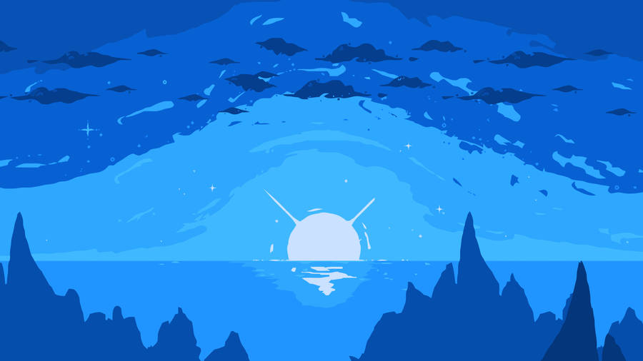 Blue Shine Wallpaper 44480