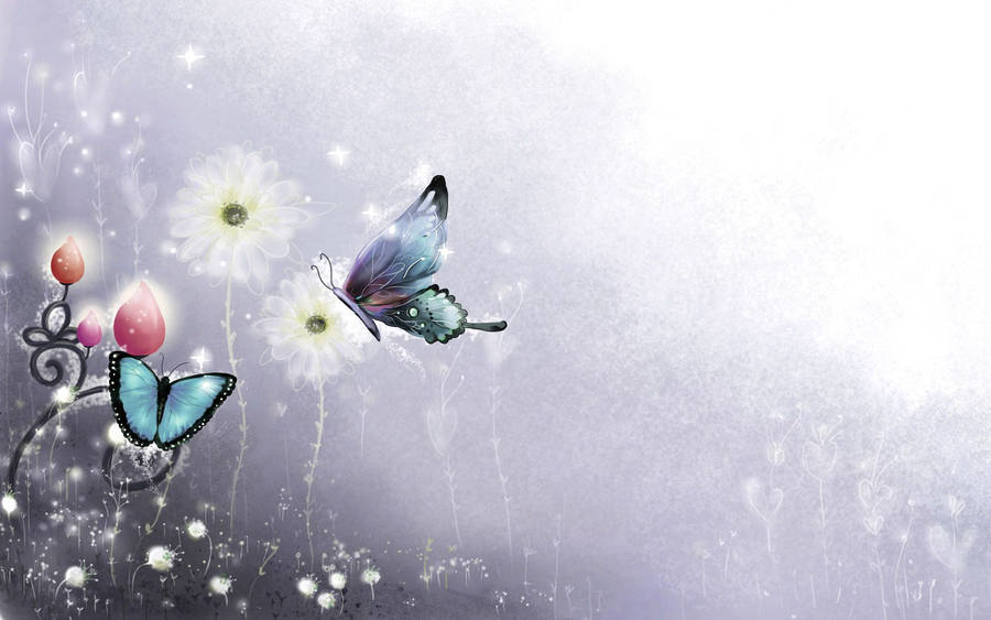 Butterfly Abstract Wallpaper 30886
