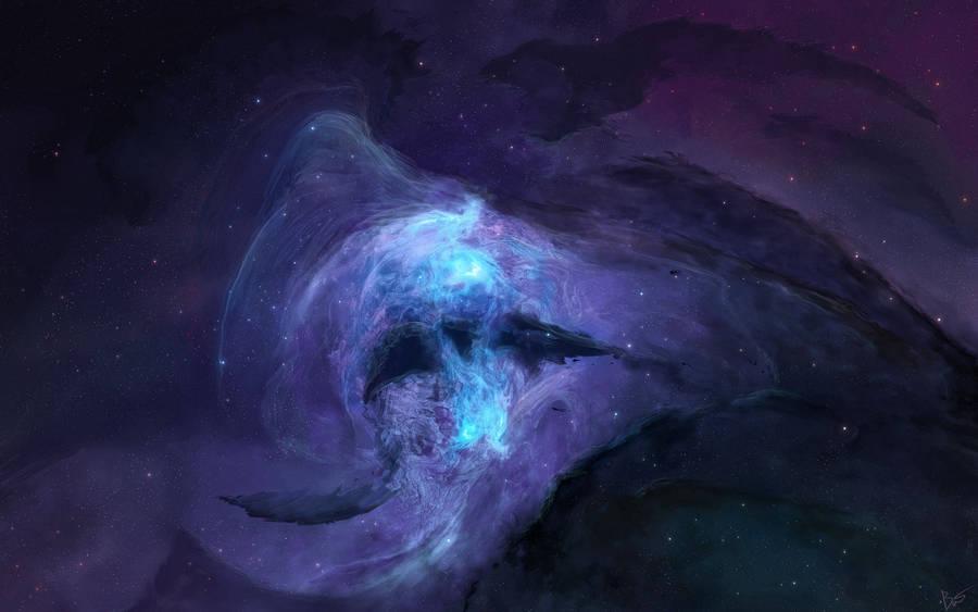 Blue galaxy wallpaper space wallpapers 39270 - Blue space galaxy wallpaper ...