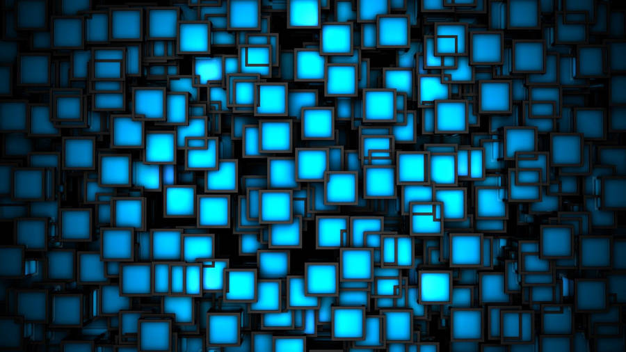White Circles On Blue Background Wallpaper 41722
