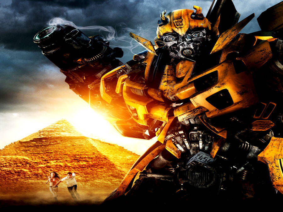 metroplex fighting in transformers: fall of cybertron wallpaper