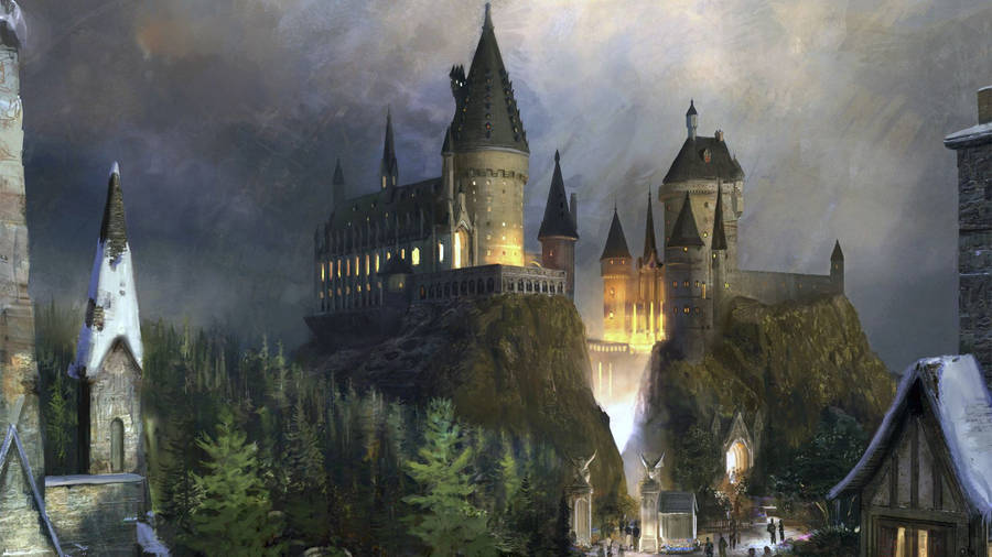 Dark castle wallpaper Dark Fantasy Castle
