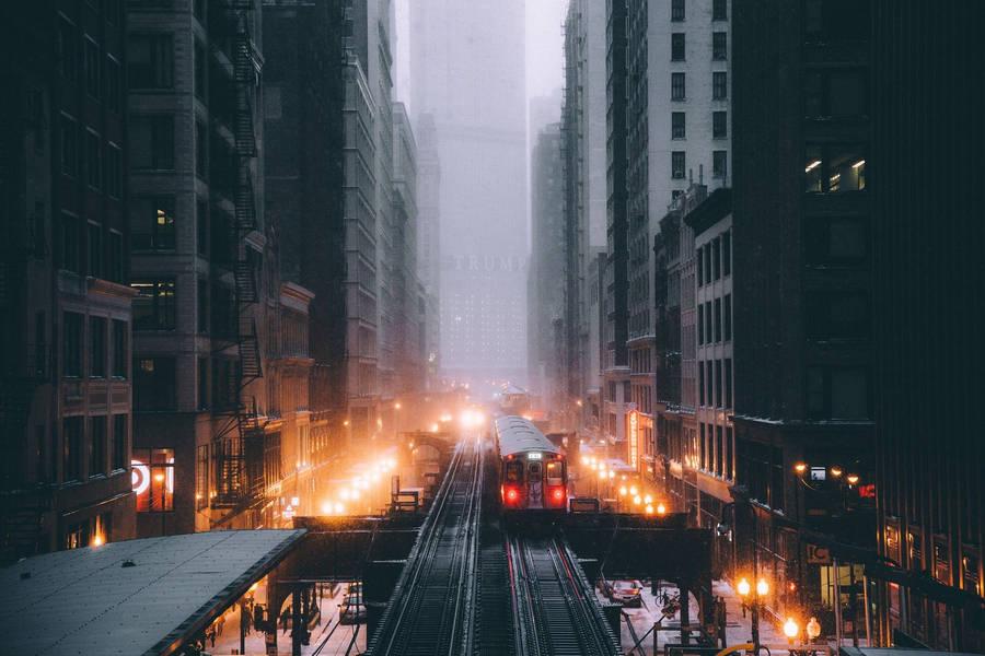 Chicago Skyscrapers Widescreen Wallpaper Wide Wallpapers Net
