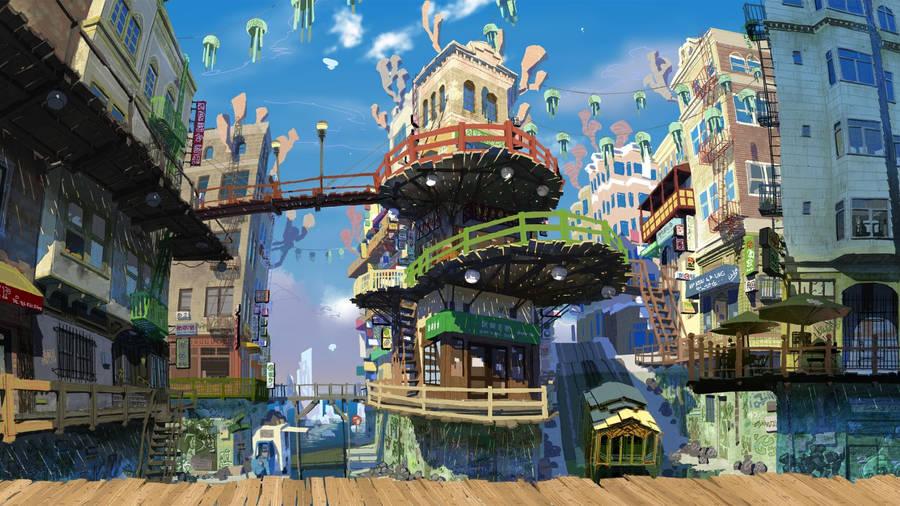 Hata No Kokoro Touhou Project Wallpaper Anime