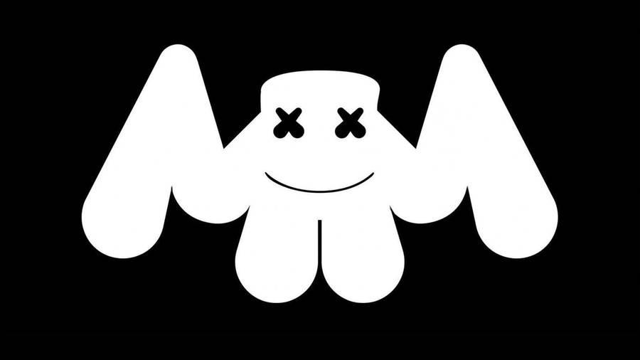 Download Contrast Marshmello Bat Logo Wallpaper Wallpapers Com