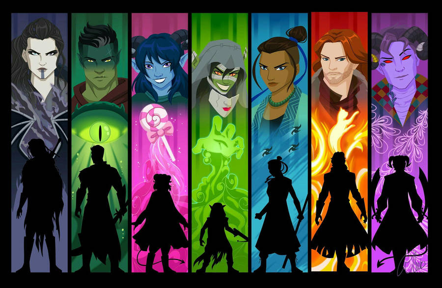 Download The Mighty Nein. Critical Role. : wallpaper ...