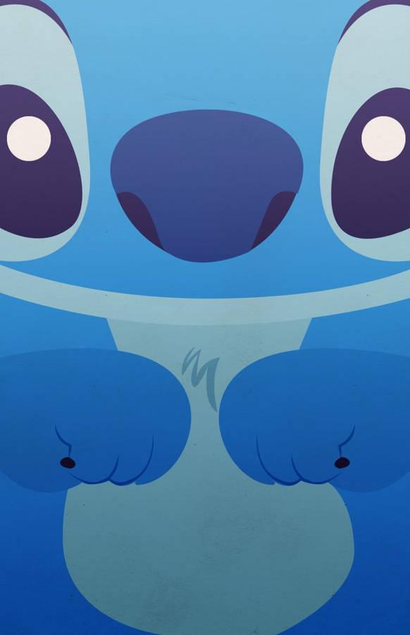 Download Cute Kawaii Stitch Wallpaper Wallpapers Com