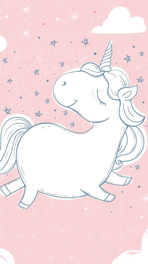 White Unicorn, free beautiful wallpaper download for your desktop or