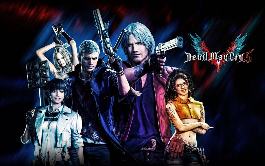 Devil May Cry Video Game Widescreen Wallpaper Wide