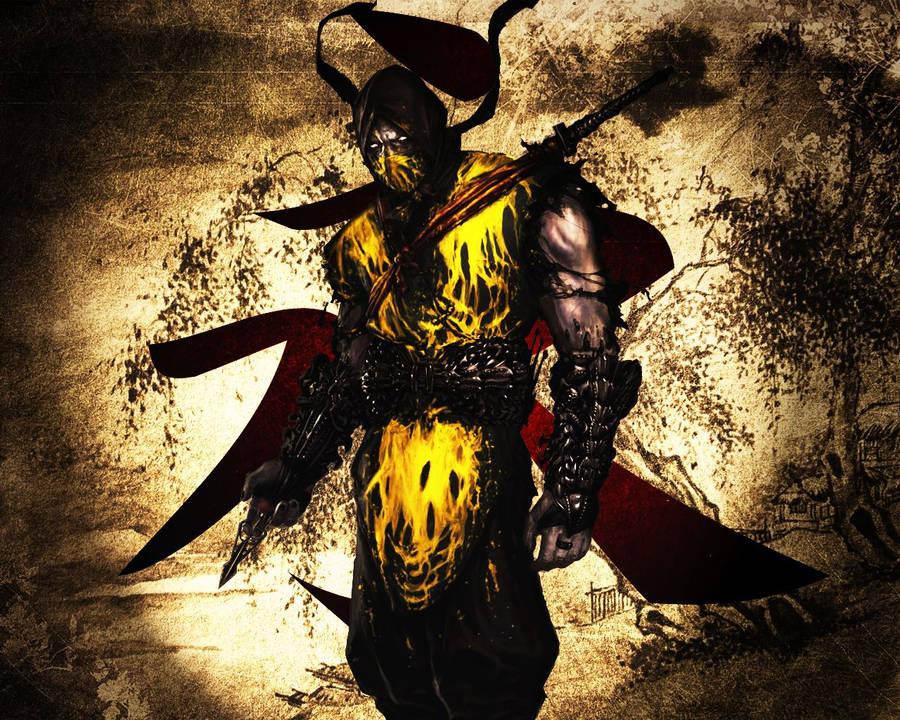 Scorpion vs Sub-Zero - Mortal Kombat wallpaper - Game