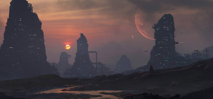 real planets and stars background - photo #48