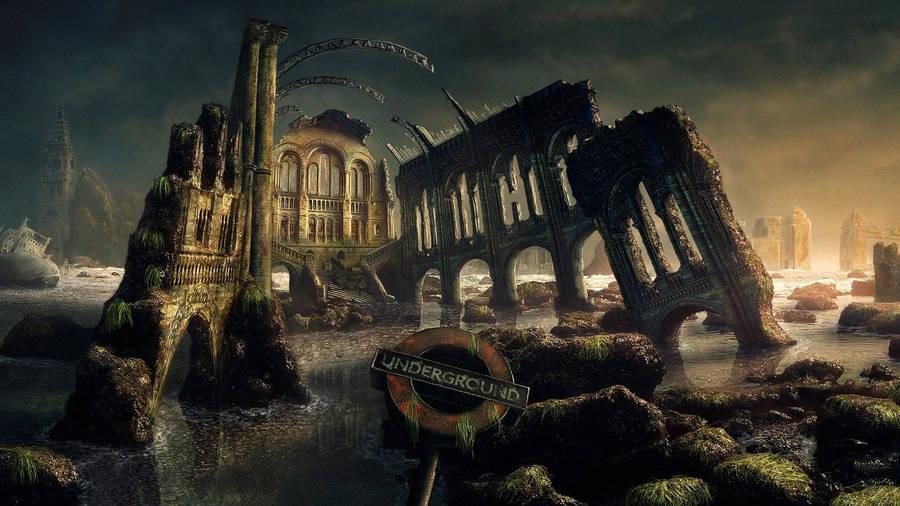 Fantasy World Underground Wallpaper