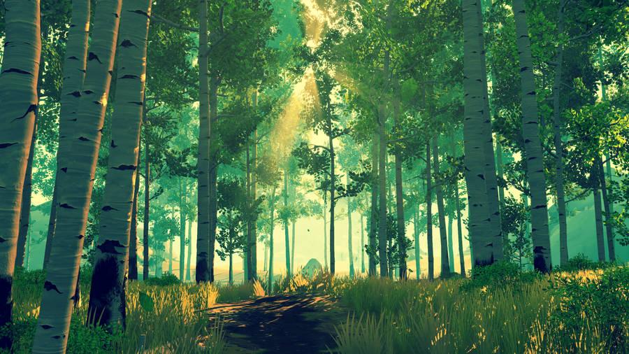 Fantasy Forest Wallpaper 35502