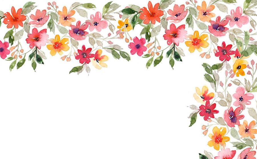 Colorful Floral Artwork - Wallpaper #34914