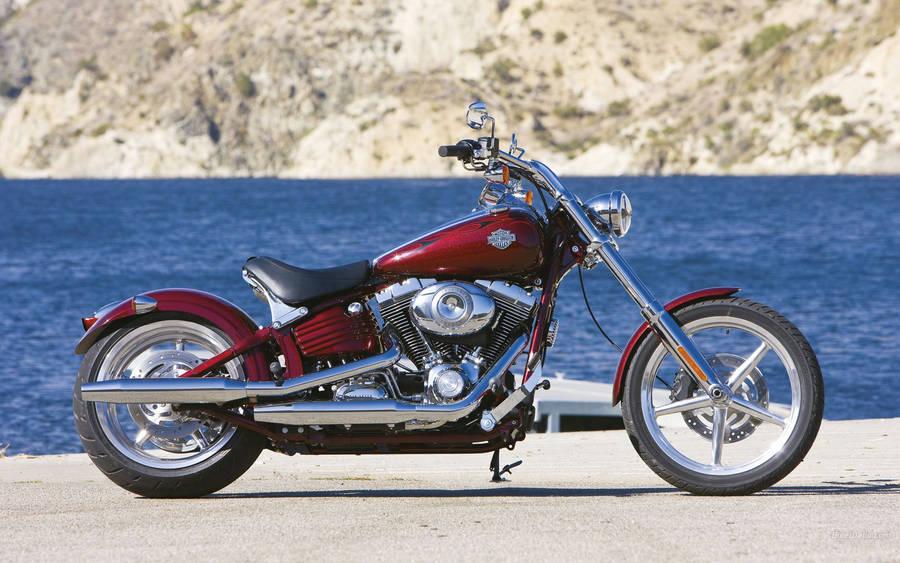 Black Harley Davidson Ides Dimage De Moto 2004 Road King Fuse Box Motorcycle Wallpaper 33705