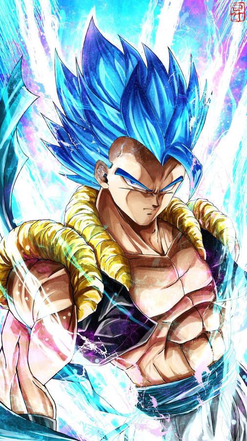 Download Gogeta Blue Art. Dragon ball gt, Dragon ball z ...