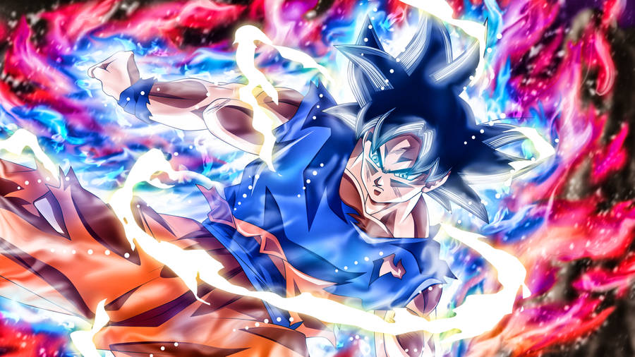 Download Goku Ultra Instinct Wallpaper Wallpaper Wallpapers Com