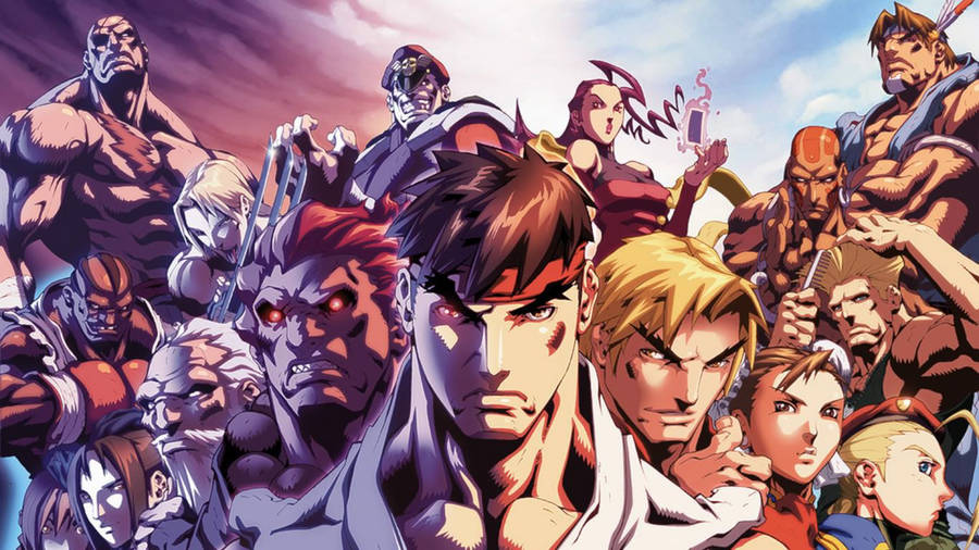Ryu And Ken In Street Fighter Wallpaper Game Wallpapers 51776