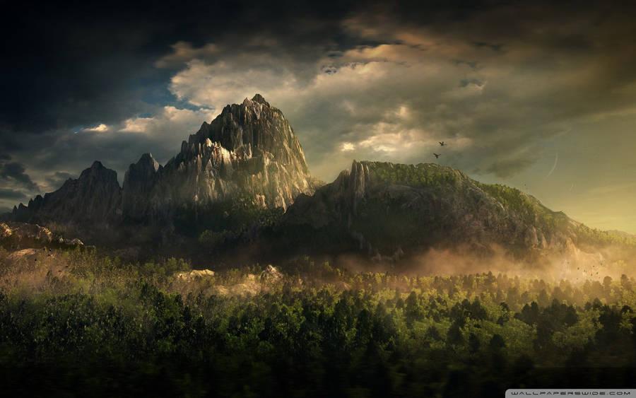 green landscape widescreen wallpaper | wide-wallpapers
