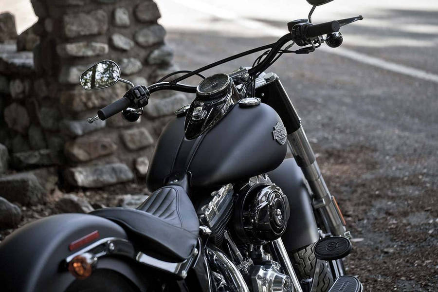 Deep Blue Motorcycle Wallpaper 33713