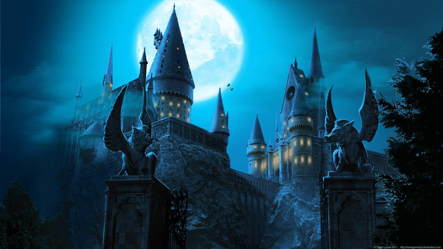 Harry Potter Wallpaper Hogwarts Wallpapers 4kwallpaperorg