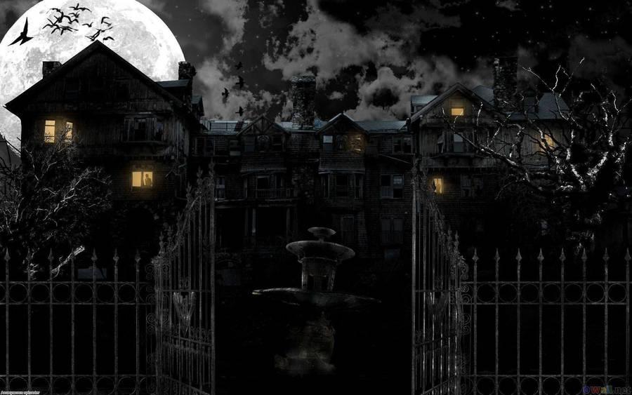 Haunted House Wallpaper 37465