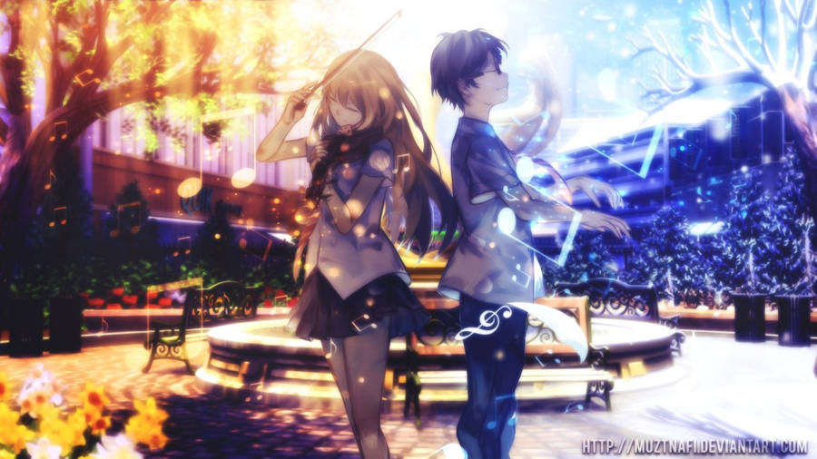 Your Lie In April Wallpapers 4kwallpaper Org