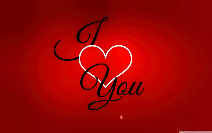 Valentines Day Card Reasons Why I Love You Widescreen Wallpaper
