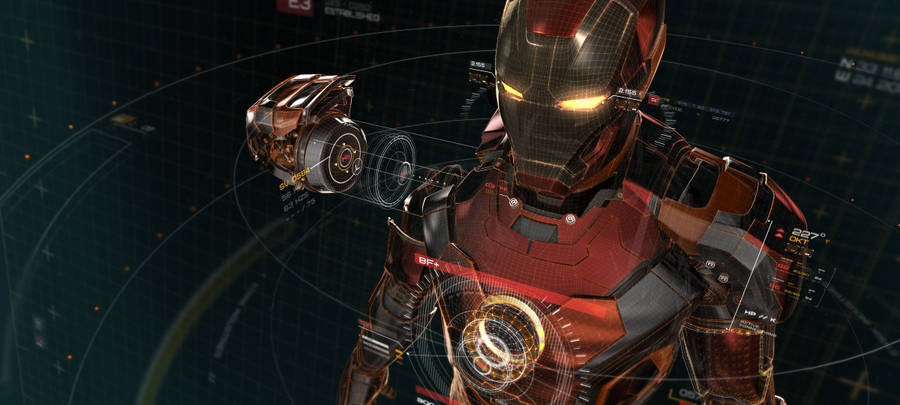 Iron Man Wallpaper Digital Art Wallpapers 15596
