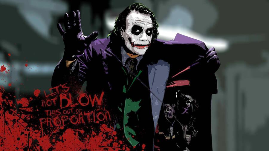 The Joker thedarkknight Fan Art The Joker Joker Dark knight