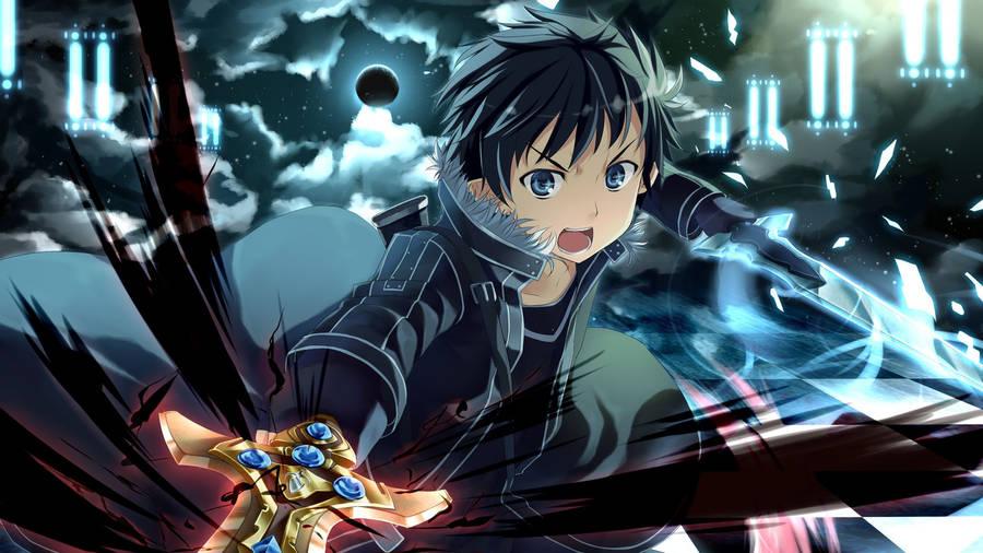 Kirito And Asuna Sword Art Online Wallpaper Anime