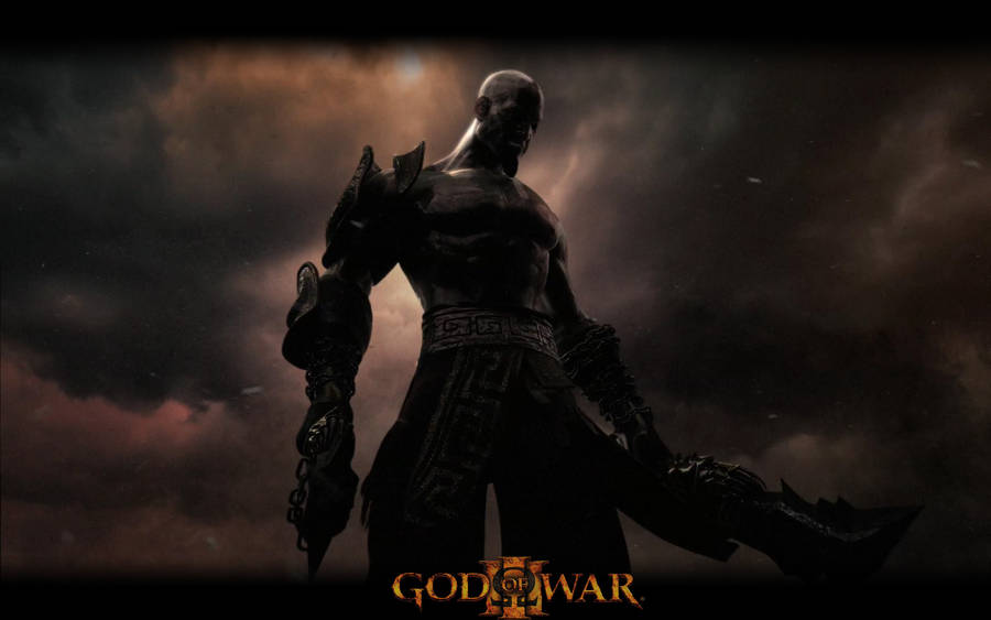 Flaming Ares In God Of War Wallpaper 1920x1200
