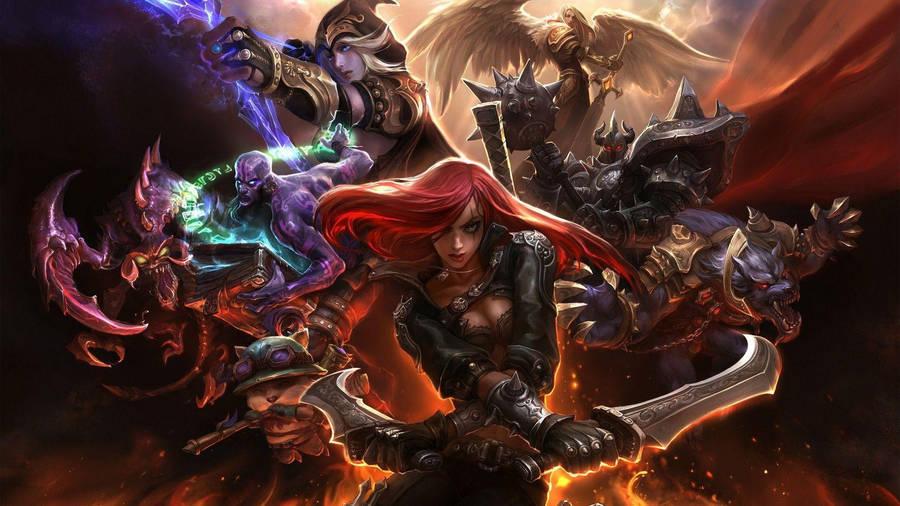 Pantheon League Of Legends Wallpaper Game Wallpapers