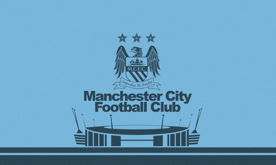 Official Man City Supporters Club –  Iraq logo