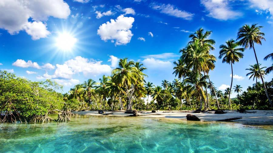 Caribbean Beach Wallpaper Beach Wallpapers 3744