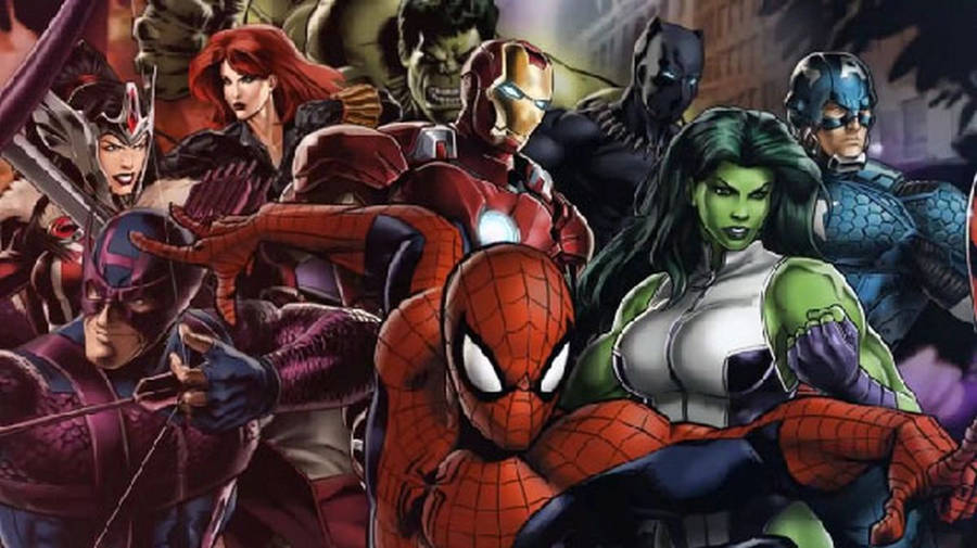 Kertas Dinding Avengers