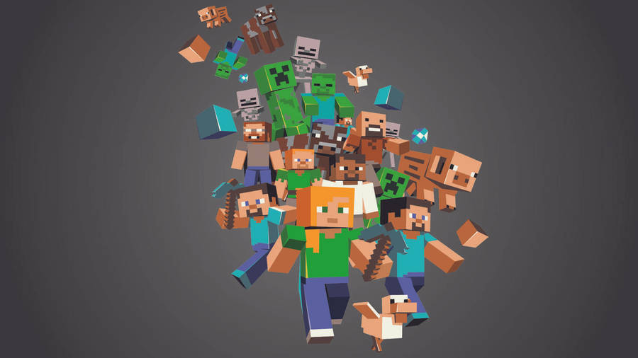 http www wallpapers com minecraft - photo #12