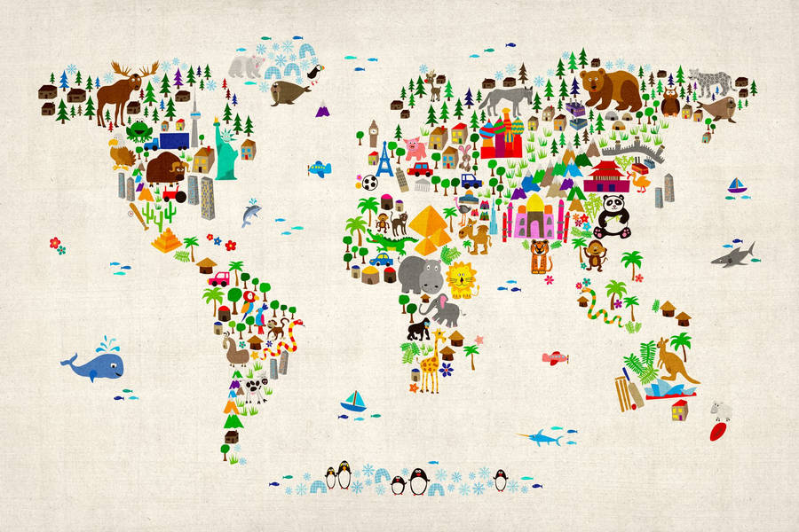 World Map Vector Clipart (41+)