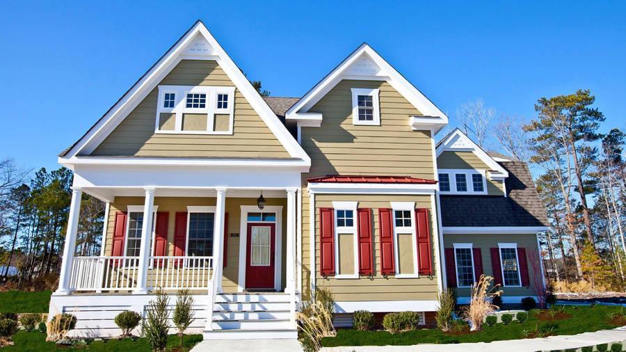 Beautiful House Landscape