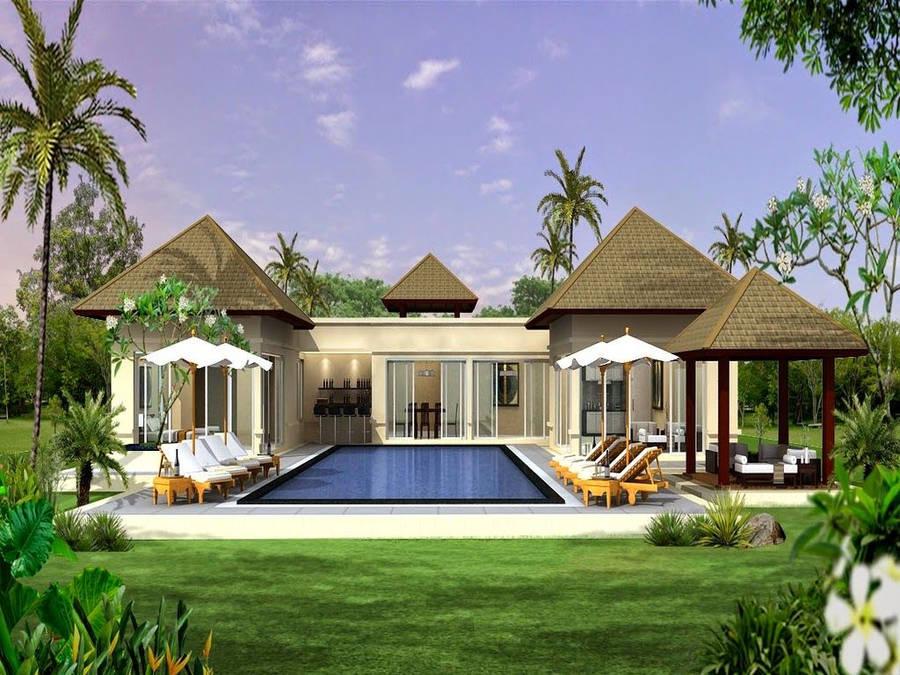 Luxurious House Interior Widescreen Wallpaper Wide