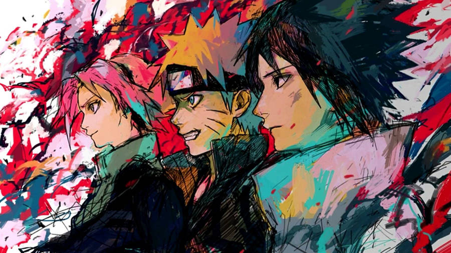 Sasuke Uchiha And Naruto Uzumaki Wallpaper Anime